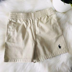 RALPH LAUREN Baby Boy's 12 Months Khaki Shorts NEW